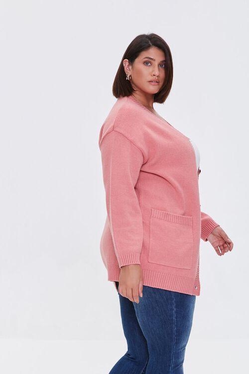 Plus Size Cardigan Sweater, image 2