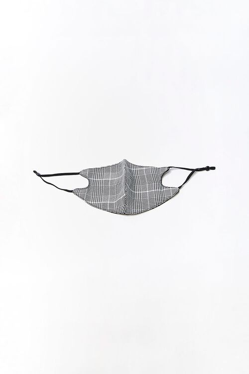 Glen Plaid Face Mask, image 1