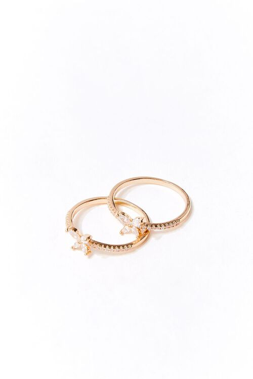 Butterfly Charm Ring Set, image 1