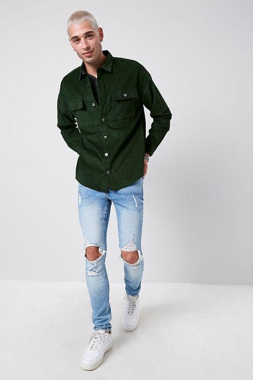 Corduroy Button-Down Jacket, image 4
