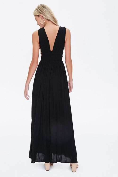 Plunging Maxi Dress, image 3