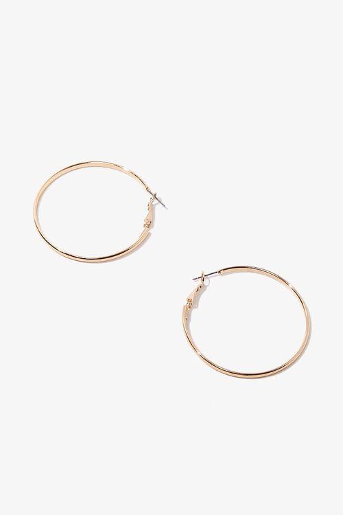 Medium Hoop Earrings, image 2