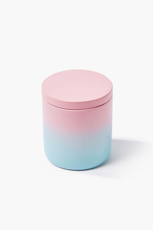 PINK/BLUE Ombre Resin Canister, image 1