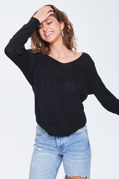 Crossover Dolman Sweater, image 4