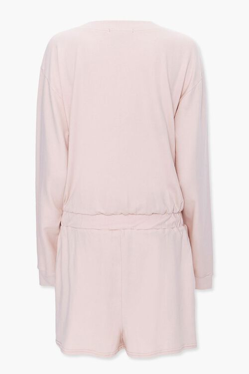 Buttoned Drop-Sleeve Romper, image 3