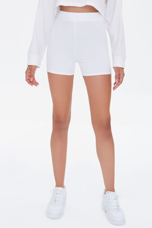 Fitted Knit Shorts, image 2