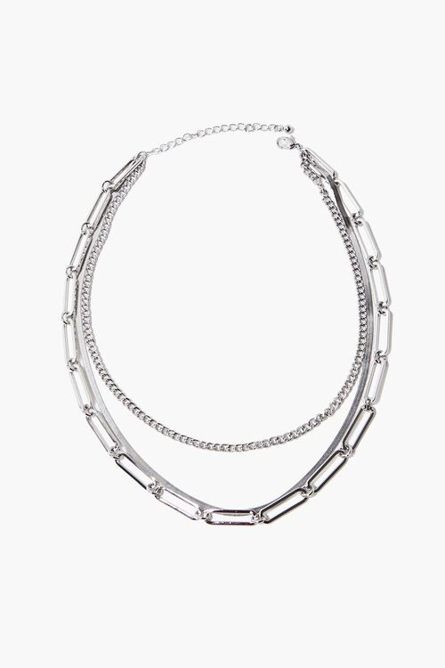 Layered Chain Necklace, image 2