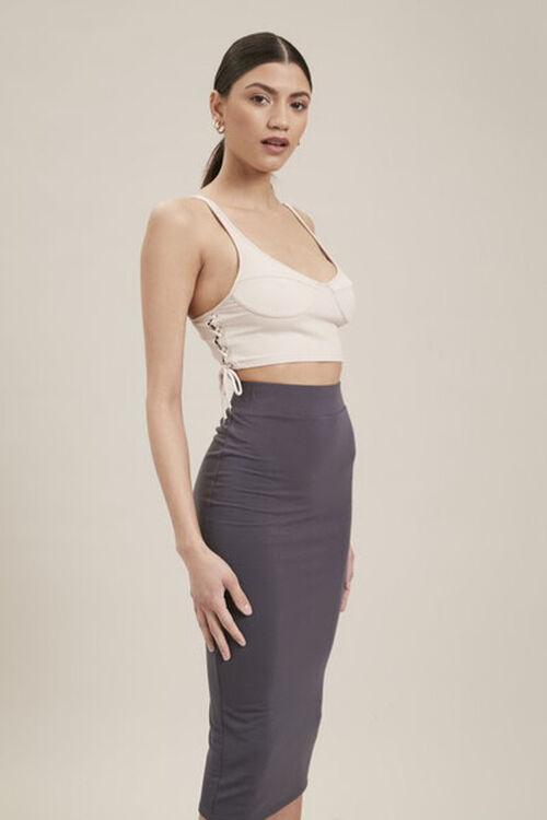 High-Rise Pencil Skirt, image 1