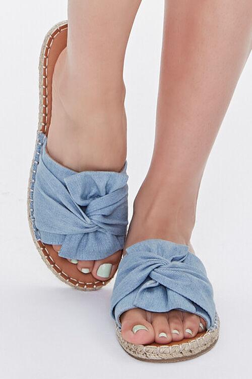 Bow-Top Espadrille Flatform Sandals, image 4