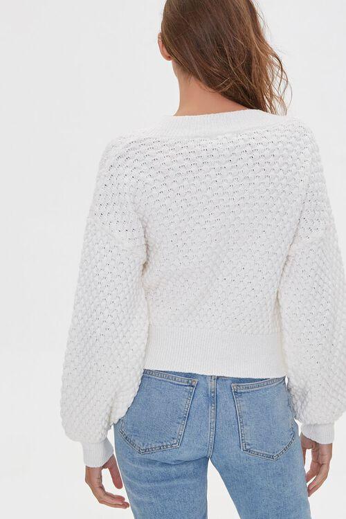 Textured V-Neck Sweater, image 3