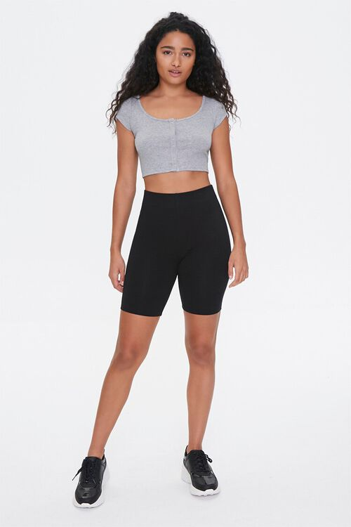 Active Button-Down Crop Top, image 4
