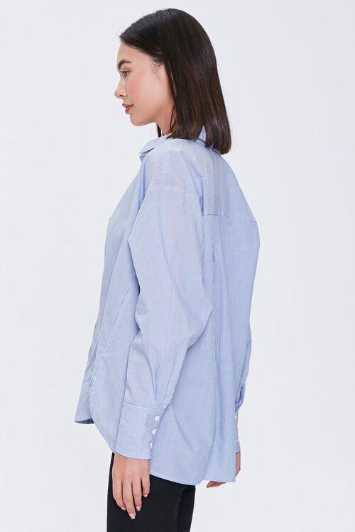 Pinstriped Bralette & Shirt Set, image 6