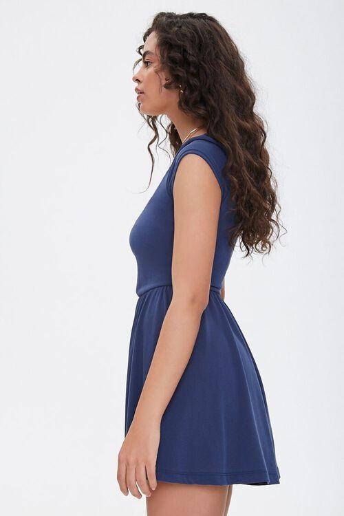 Scoop Neck Skater Dress, image 2