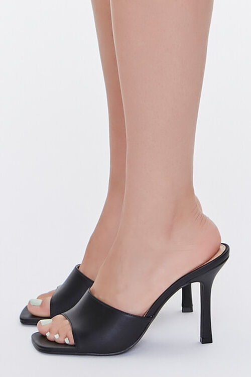 Faux Leather Stiletto High Heel, image 2
