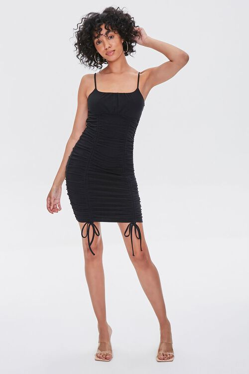 Ruched Bodycon Mini Dress, image 4