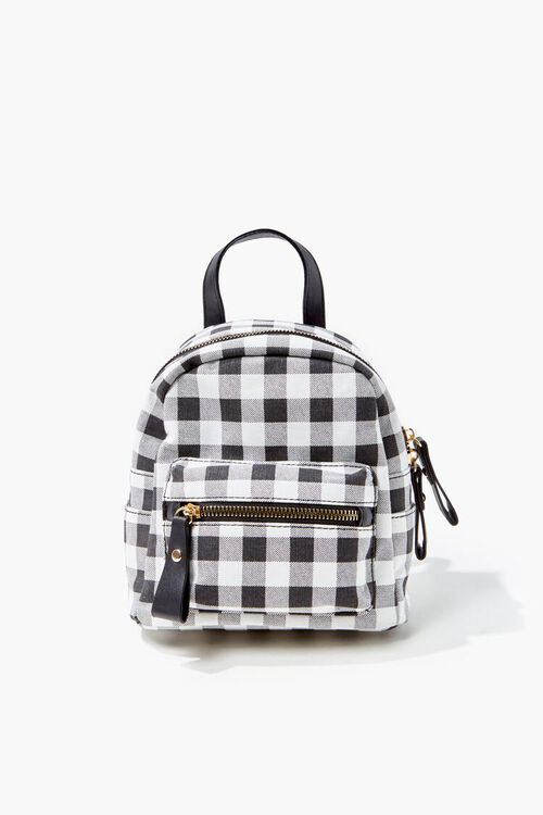 Buffalo Plaid Mini Backpack, image 4