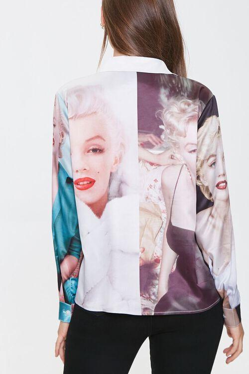 BLACK/MULTI Marilyn Monroe Button-Front Shirt, image 3