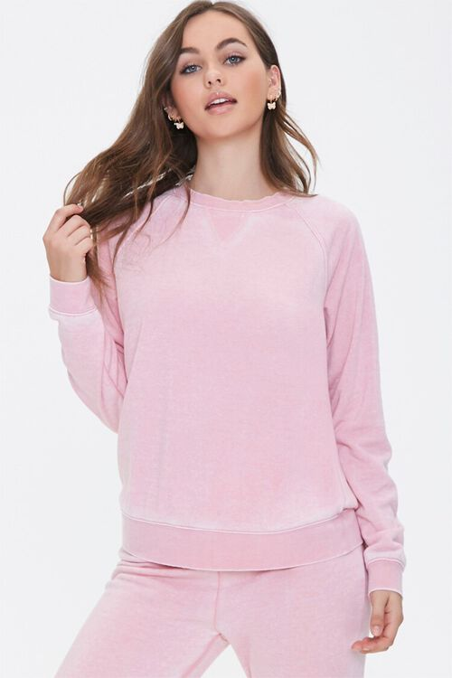 PINK Raglan Pajama Top, image 1