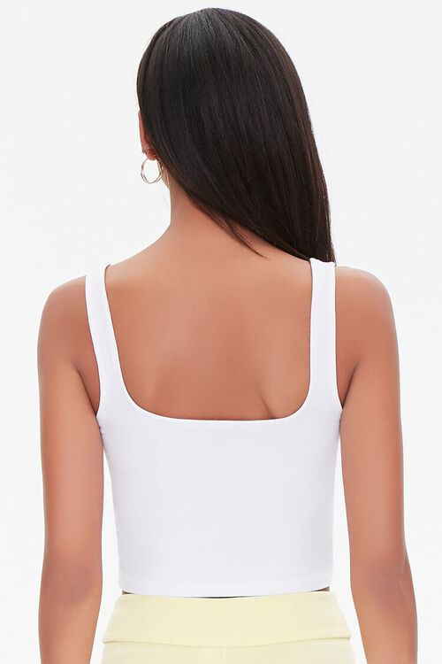 Cotton-Blend Cropped Tank Top, image 3