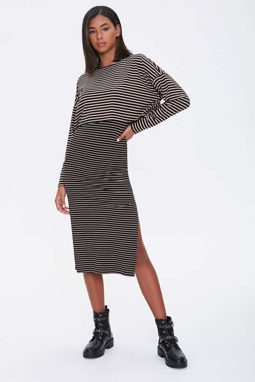Striped Top & Skirt Set, image 5