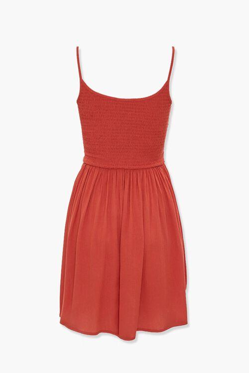 Smocked Skater Dress, image 3