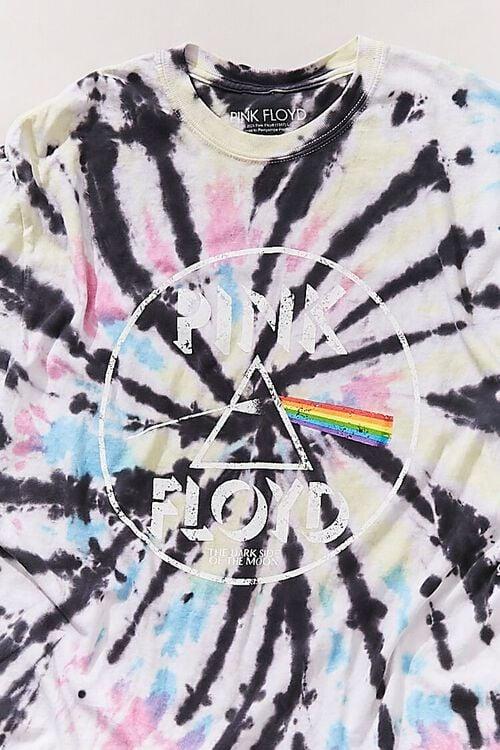 BLUE/MULTI Tie-Dye Pink Floyd Tee, image 3