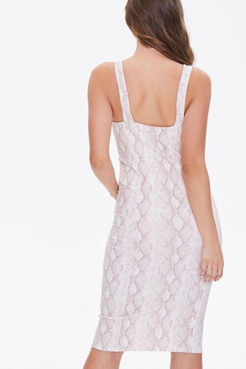Snakeskin Print Tank Dress, image 4