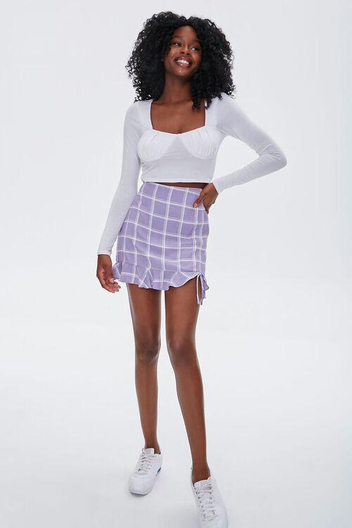 Plaid Flounce Mini Skirt, image 5