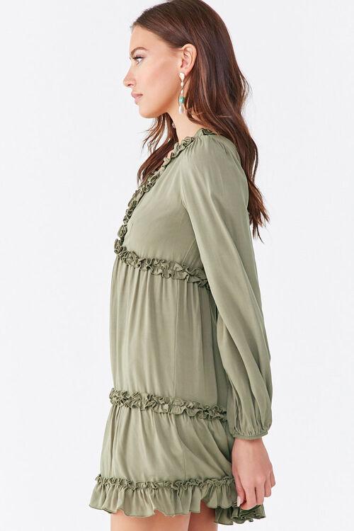 Ruffle-Trim Mini Dress, image 2