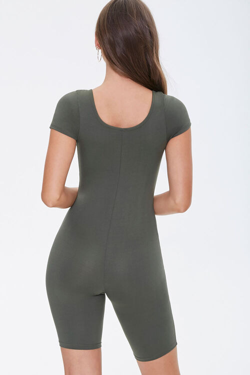 Scoop Neck Romper, image 3