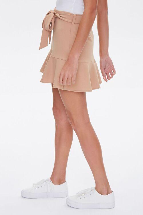 Flounce-Trim Mini Skirt, image 3
