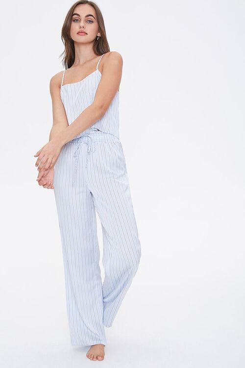 Striped Cami & Pants Sleep Set, image 1