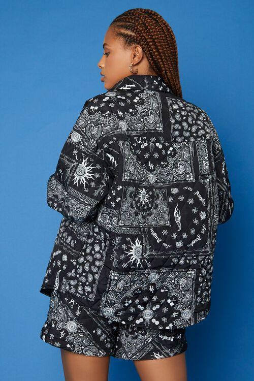 BLACK/WHITE Hot Wheels Paisley Jacket, image 4