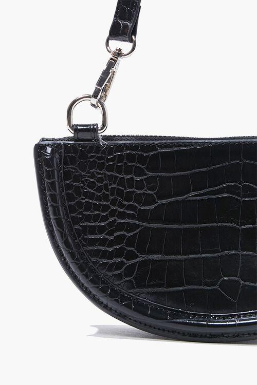 Faux Croc Crossbody Bag, image 4