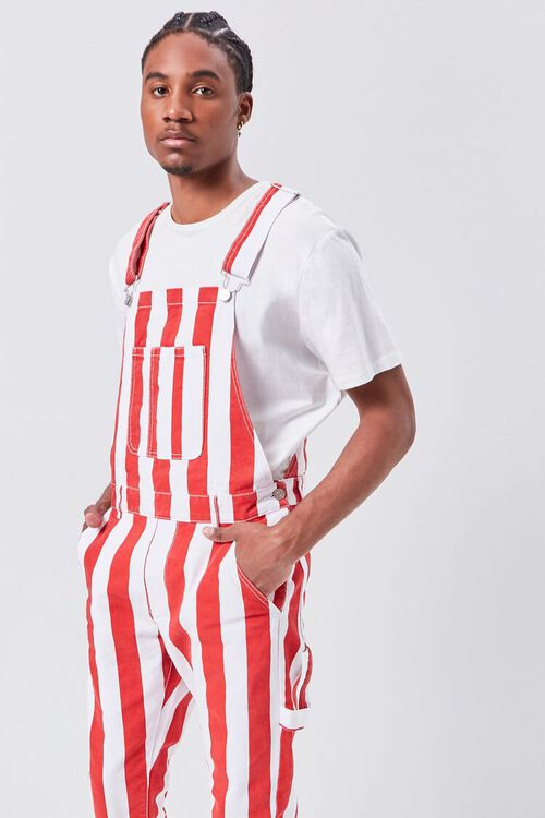 Bold Vertical Striped Overalls, image 5