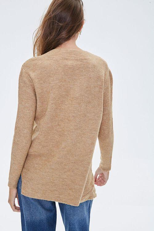 Marled V-Neck Sweater, image 3