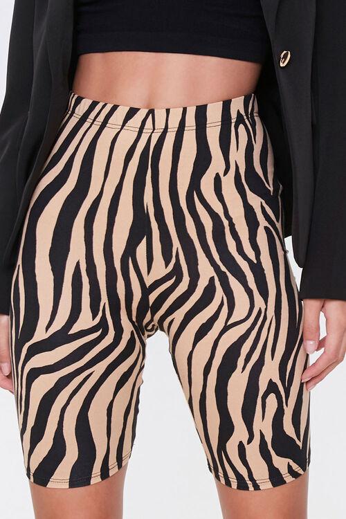 Tiger Print Biker Shorts, image 2