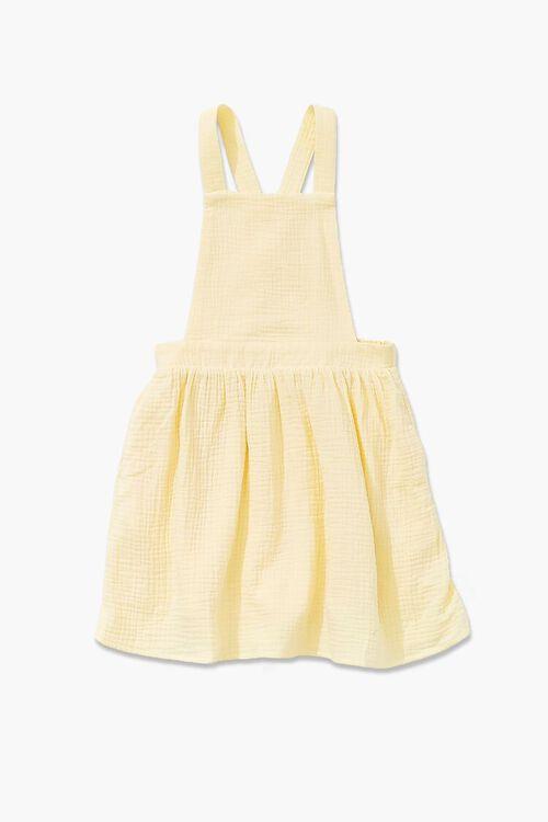 Girls Textured Overall Dress (Kids), image 1