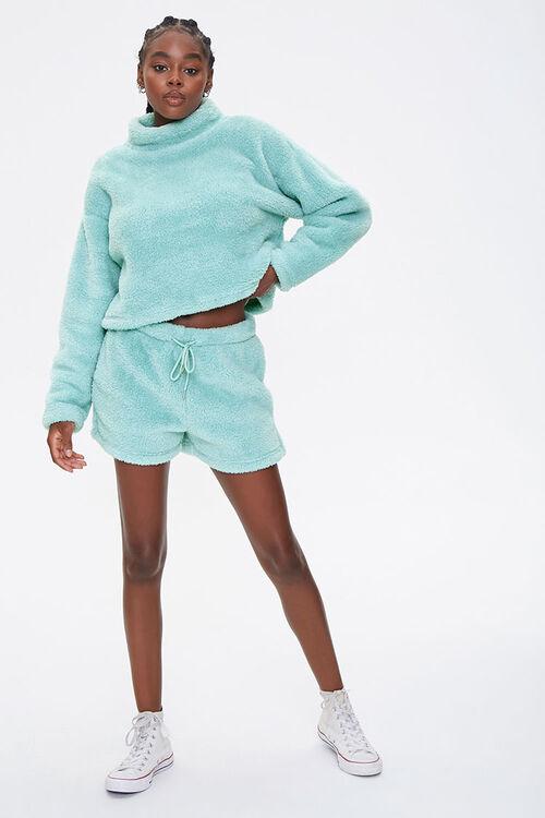 Plush Drawstring Shorts, image 5