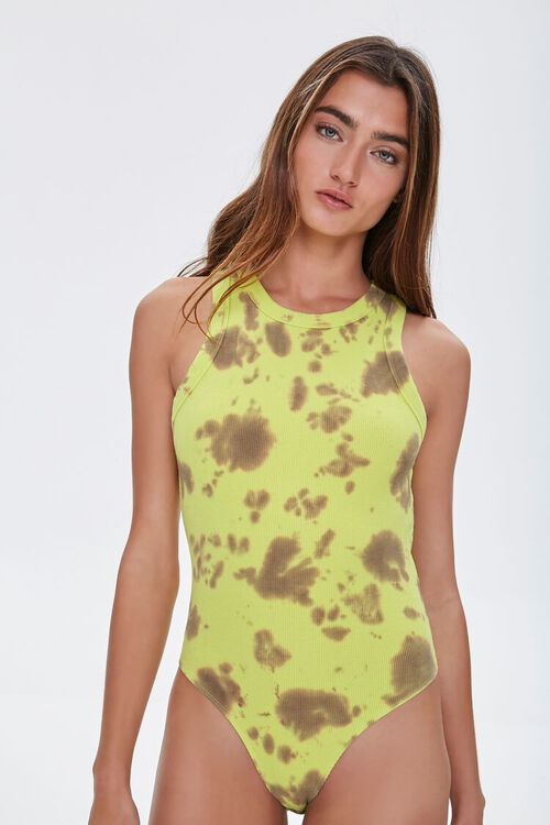Tie-Dye Tank Bodysuit, image 5