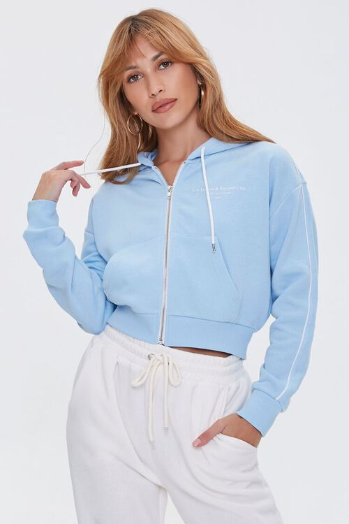 French Terry Zip-Up Hoodie, image 1