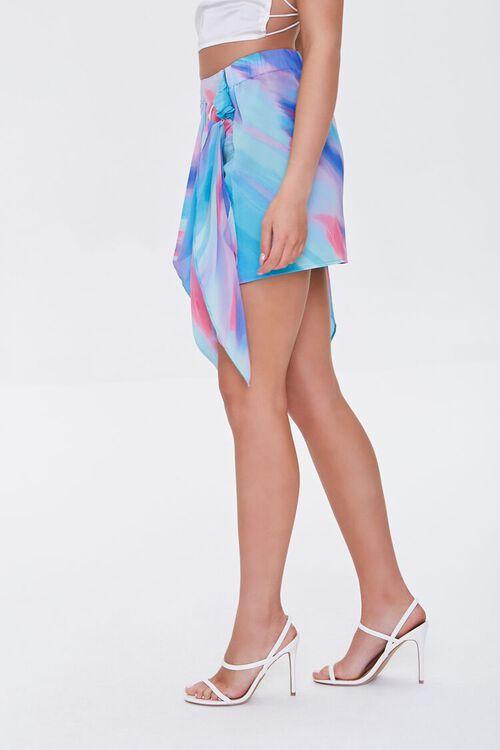 Abstract Print Mini Skirt, image 3