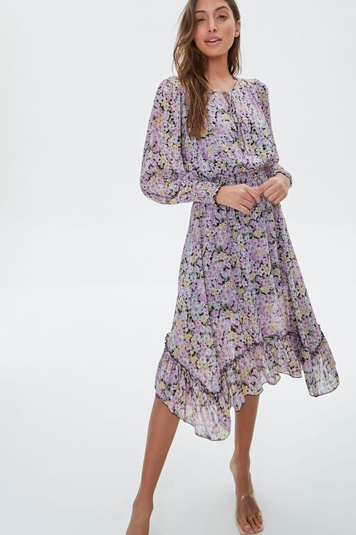 Floral High-Low Dress, image 1