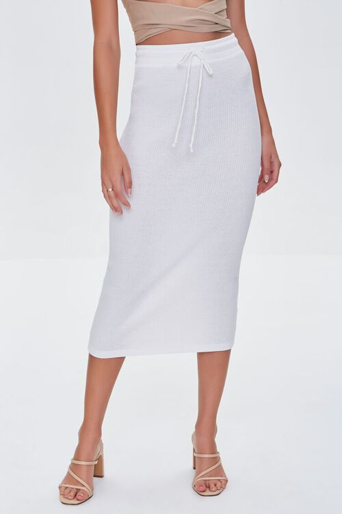CREAM Fitted Drawstring Skirt, image 2