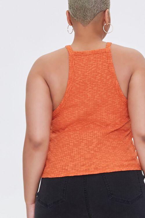 Plus Size Ribbed Slub Knit Cami, image 3