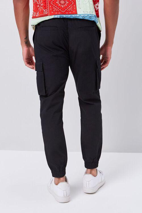 Smocked Drawstring Cargo Pants, image 4