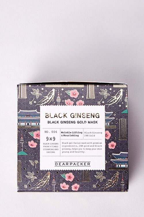 Black Ginseng Gold Mask, image 4