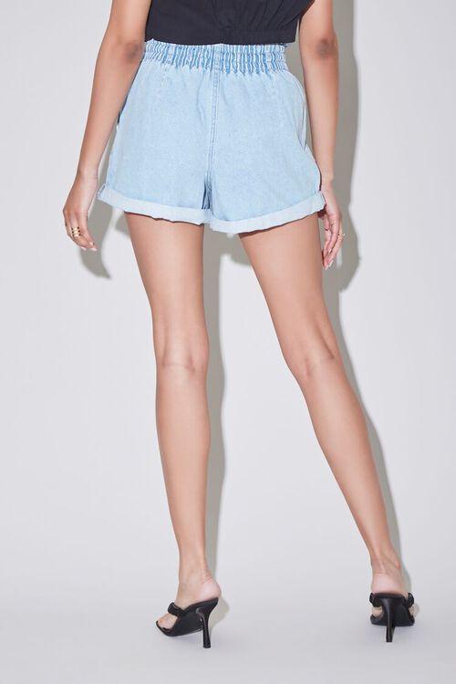 Paperbag Denim Shorts, image 4