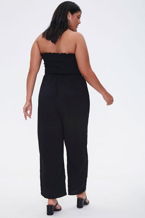 Plus Size Smocked Jumpsuit, image 3