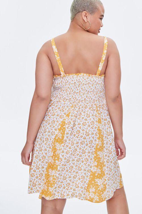 Plus Size Reworked Floral Mini Dress, image 4